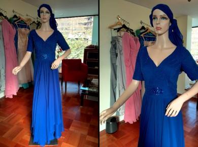 Vestido de Madrina Drapeado