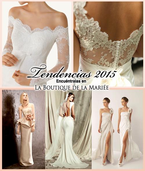 Vestidos de Novia 2015 - La Boutique de la Mariée
