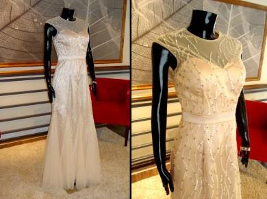 Vestido Sirena con Pedrería - La Boutique de la Mariée