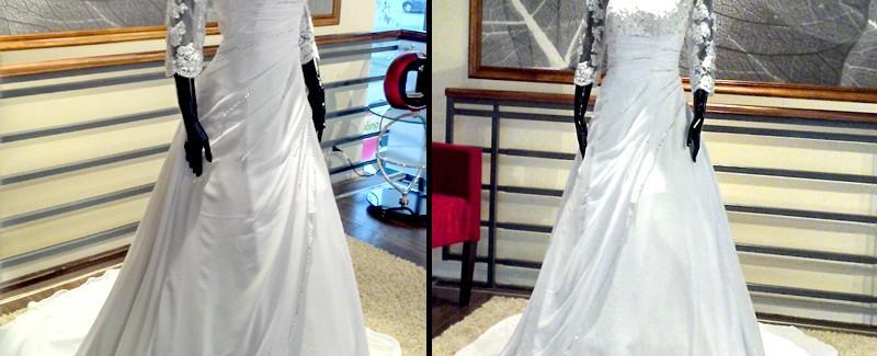 Vestido con Mangas - La Boutique de la Mariée