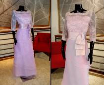 Vestido escote bote - La Boutique de la Mariée