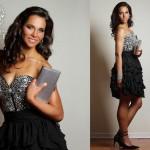 Vestido Strapless y falda en capas - La Boutique de la Mariée