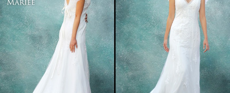 Vestido Caida Natural - La Boutique de la Mariée