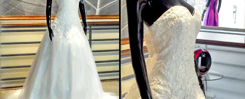 Vestido Strapless Princesa - La Boutique de la Mariée