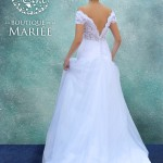 Vestido de Novia Corte A - La Boutique de la Mariée