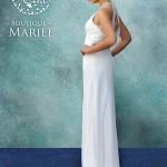 Vestido de Novia con Pabilos - La Boutique de la Mariée