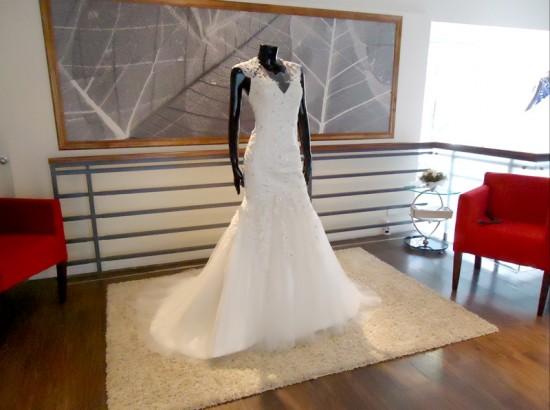Vestido de Novia Estilo Sirena - La Boutique de la Mariée