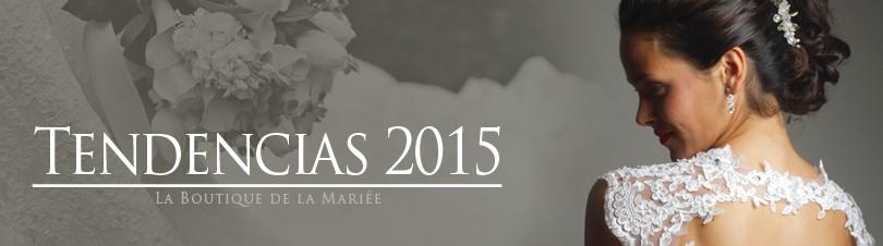 Tendencias en Vestidos de Novia 2015